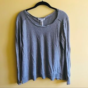 Workshop Republic gray t shirt with thermal panels